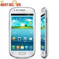 "Abierto original samsung galaxy s3 mini i8190 i8190 teléfono móvil dual-core 4.0 ""Cámara de 5MP 8 GB ROM 3G WIFI GPS Reacondicionados"