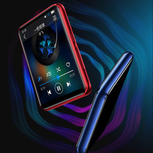 2020 neueste Benjie X5 Full HD 2,5 zoll Farbe Touch Screen Bluetooth 5,0 Gebaut in Lautsprecher Verlustfreie Musik HIFI MP3 Player