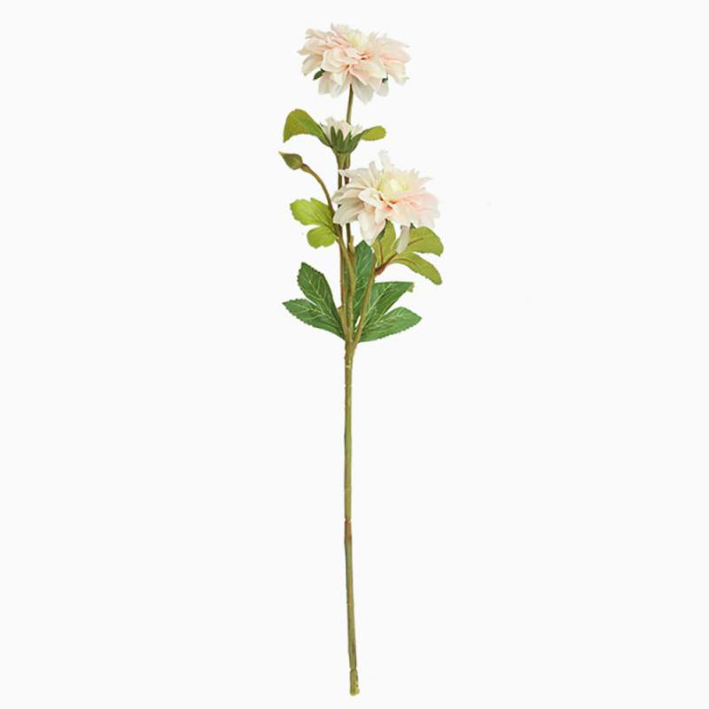 Beautiful Dahlia Real Looking Flower Artificial Flowers Small bouquet Home Party Spring Wedding Decoration Fake Flower in Artificial Dried Flowers from Home Garden