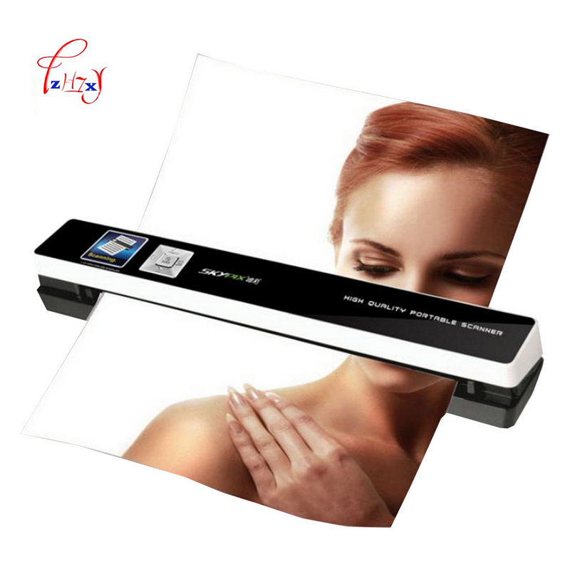 Portable A4 Scanner Automatic Paper Feeding Mini Office Scanner HD 1200dpi High Speed Image Scanner A4 Document TSN480 1pc l1000 portable hd 10mp 3672x2856 usb camera photo image document book a3 a4 scanner visual presenter high speed ocr scanner a3