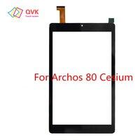 Tela de toque preta para archos 70 80 90 césio capacitivo painel da tela de toque reparação peças reposição