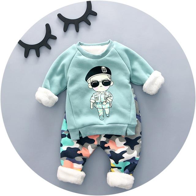 Babykleding Jongen.2016 Winter Babykleding Jongen Met Little Man Print Mode Stijl Hoge