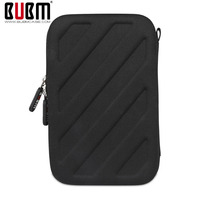 BUBM 3DS LL XL Game Console Protection Black Big Capacity Charger Receiving Portable Storage Case Bag