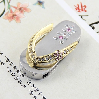 Waterproof 2.0 Flash Usb Drive 64GB 32GB 16GB Memory Stick Pen Drive Necklace Gold/Silver Gift Jewelry Shoes Pendrive 1TB 2TB