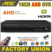Big discount AHD 16CH CCTV DVR Recorder 720P Real Time Digital Video Recorder H.264 Hybrid NVR 16 CH Channel HDMI Output for AHD Cameras