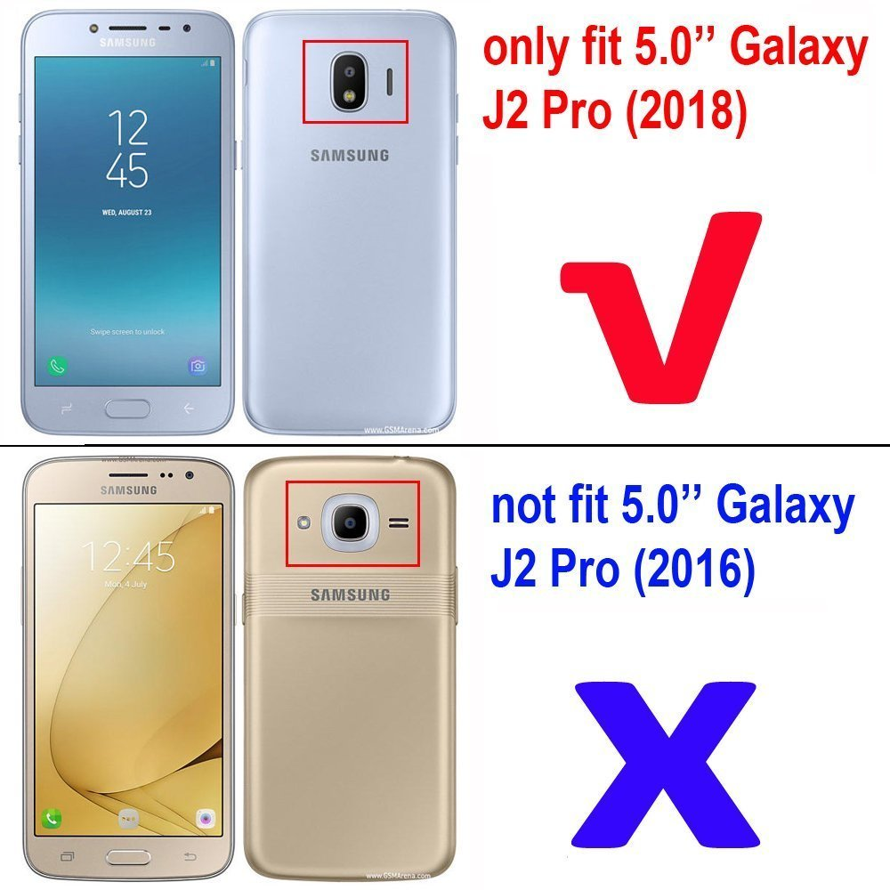 2pcs Full cover Tempered Glass For Samsung Galaxy J2 Pro 2018 Grand Prime J2PRO Screen protective black White 5 inch smartphone in Phone Screen Protectors from Cellphones Telecommunications