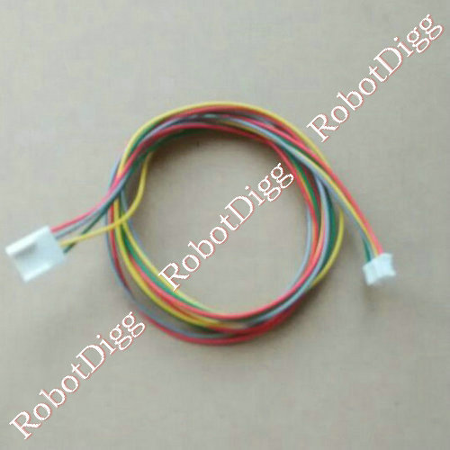 700mm long 4p lead wire motor cables
