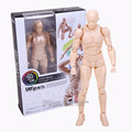 SHFiguarts BODY KUN / BODY CHAN Grey / Orange Color Ver. PVC Action Figure Collectible Model Toy