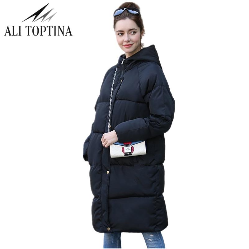 Novi Zadebljavanje 2018 žene Parka zimske jakne kaput dolje plus - Ženska odjeća - Foto 1