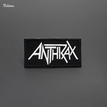 Velocidad Thrash música metal insignias ropa bordada parches hierro caliente en pegatinas para coser tela etiquetas de decoración