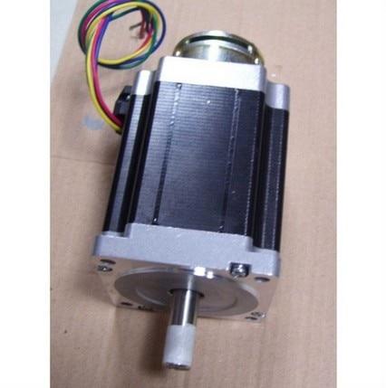 24VDC 4N NEMA34 Brake Stepper Motor From Power Step Nema Brake 34 150 mm Body Length цена