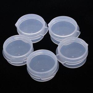 Image 3 - 10 adet makyaj kavanoz Mini örnek şişe sızdırmazlık Pot yüz kremi kabı taşınabilir şişe plastik şeffaf kılıf makyaj aksesuarı
