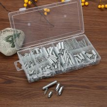 200 pcs Hardware Tools Various models Steel Spring Extension Tension Pressure Springs Set with Transparent Box