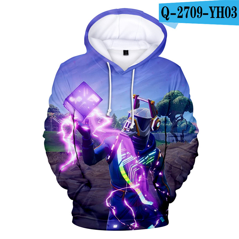 Fortnit Battle Royale Hoodie Sweatshirt Kids Sweatshirt Girls Game Clothings Fornit Children Clothing Fortnight Popular Clothes