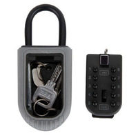 Keys Safe Box Digit Wall Mount Combination Lock With Four Password Key Storage Box Zinc Alloy