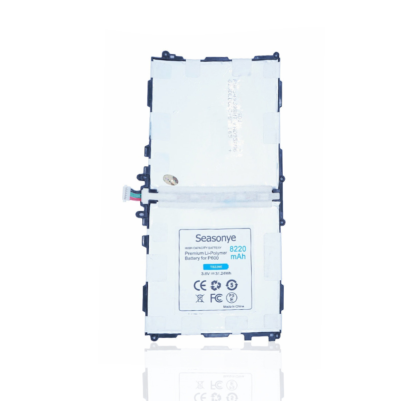 Seasonye 8220mAh 31.24Wh T8220E / T8220U Replacement <font><b>Battery</b></font> For <font><b>Samsung</b></font> Galaxy <font><b>Note</b></font> <font><b>10.1</b></font> <font><b>2014</b></font> <font><b>Edition</b></font> P600 T520 P601 P605 P607 image