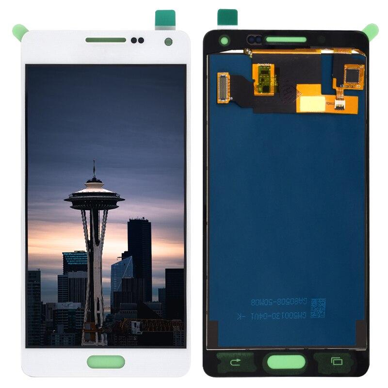 Tft para samsung galaxy a5 2015 lcd a500 display toque digitador sensor de vidro montagem pode ajustar a500 a500f a500fu a500h