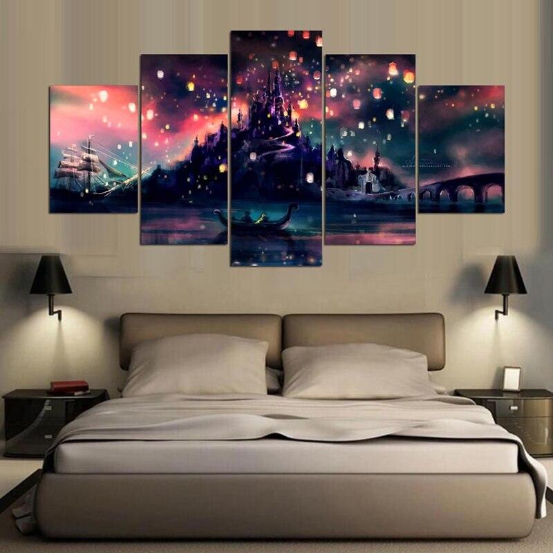 Artryst Modulare Wohnkultur Moderne Wandkunst HD Gedruckt Bilder ...