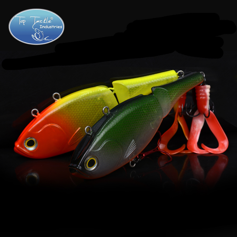 Fishing Lure Artificial Bait Swim bait 135mm 55g Sinking 2-Segement VIB With Soft Double Tail Jerk bait fishing lure artificial bait swim bait 135mm 55g sinking 2 segement vib with soft double tail jerk bait