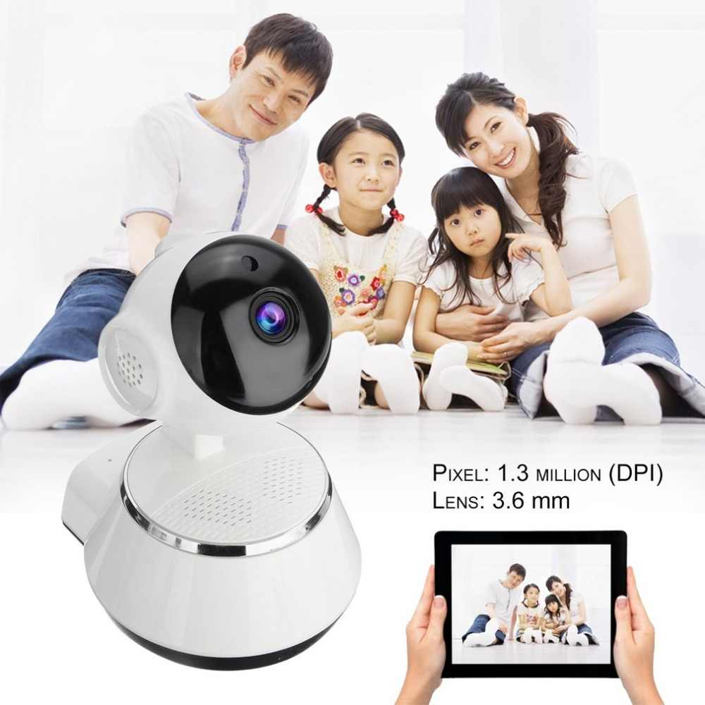 720P HD Wireless Wifi Baby Camera Home Security Surveillance IP Camera 3.6mm Lens Wide Angle Indoor Camera Support Night Vision