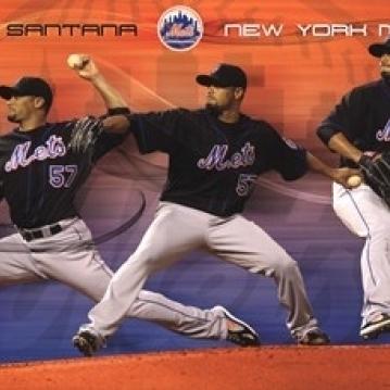 Mets – J Santana 11 Poster Print (36 x 24)