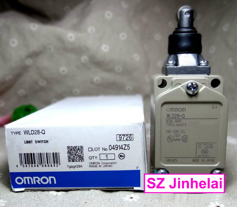 WLD28-Q New and original OMRON Limit switch, Travel switch 2A 250VAC цена
