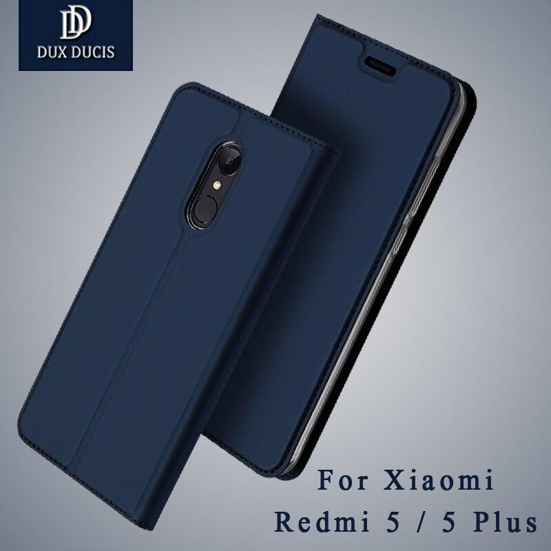 Dux Ducis Xiaomi Redmi 5 Plus Global Case Wallet Leather Cover Xiaomi Redmi 5 2017 Flip PU Case For Xiaomi Redmi 5a 5plus Cases