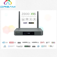 Zidoo X9 TV Box Android 6.0 Iptv Realtek RTD1295 ARM Cortex-a53-prozessor Quad-Core-TV Box 2G 16G Gigabit LAN Dual Wifi BT4.0 KODI(China (Mainland))