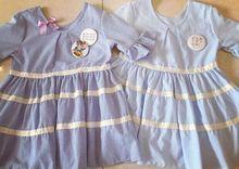 New 2016 Summer Women Vintage Dress Casual stripe Short Sleeve Slim Waist Mandarin Harajuku Dresses Light Blue Canada/Chile/USA