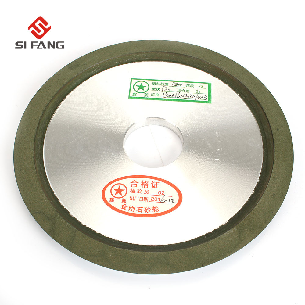 150mm Diamond Grinding Wheel Grinding Diac 150 Grit Hypotenuse For Carbide Milling Cutter Power Tool D2
