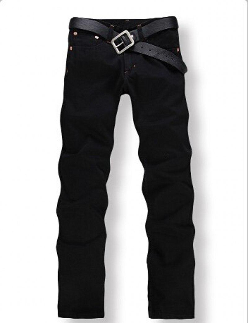 2016 New Arrival Fashion Black Color Slim Straight Leisure & Casual Brand Jeans Men,Hot Sale Denim Cotton Men Jeans,C33077