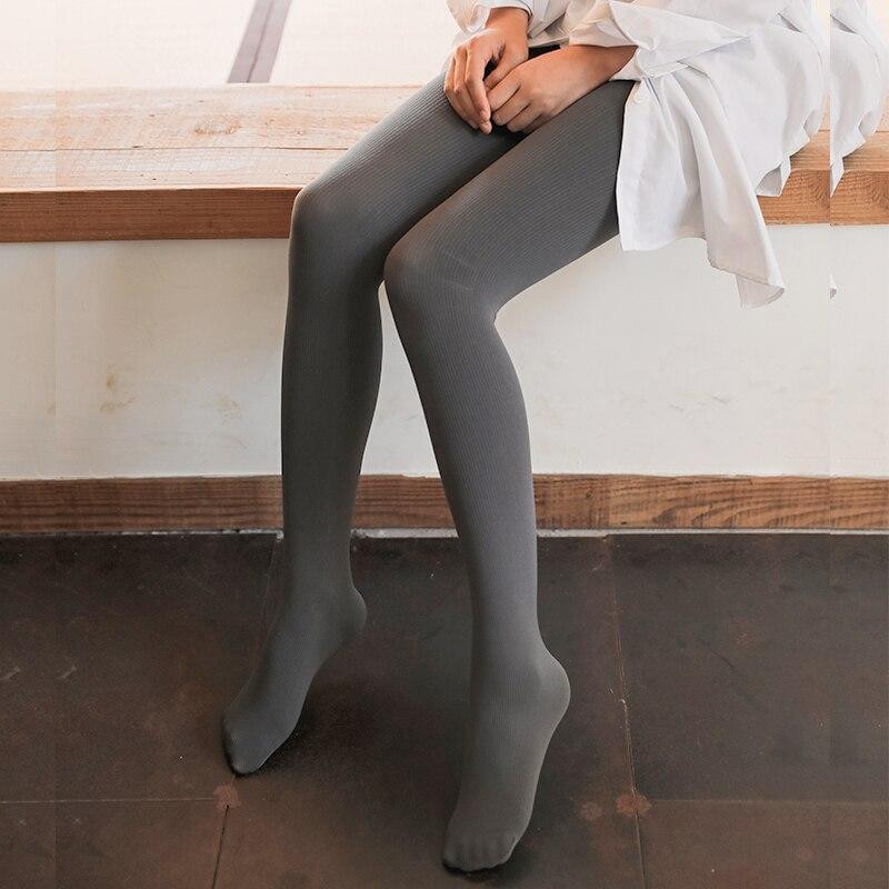 Japanische Trend Mädchen Bodenbildung Panty Schlauch Weiblichen Frühling Und Herbst Koreanische Version Medium Dicken Grau Leggings Grund Hosen