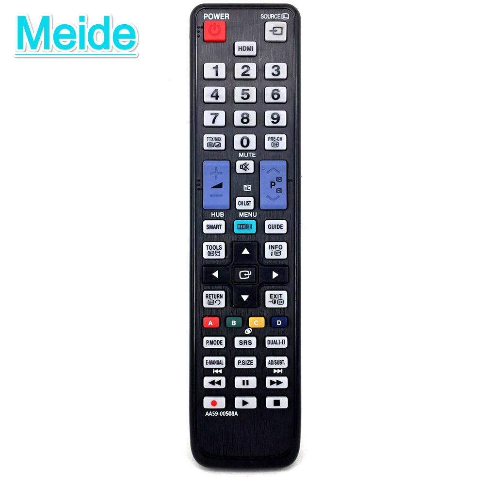 New Remote Control AA59-00508A For Samsung HDTV LCD LED TV AA59-00507A AA59-00465A Remote Control Remoto Controller telecomando outdoor sports pockets sv012199