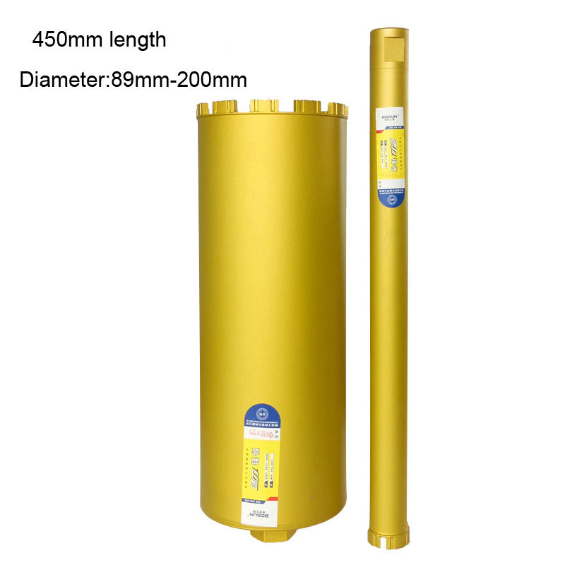 450mm length Wet Diamond Core Drill Bit for Concrete Premium Series masonry