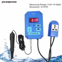 Digital pH Controller Meter Tester Water Quality Tester 0.00~14.00pH Range with Optional HI/LO Action 40% off