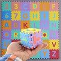 Дети Ребенка С Sizei Пены Алфавит Interlaocking Письма Числа Играя Развивающие Мягкие Коврик Головоломки