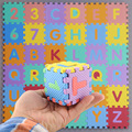 Kids Child S Sizei Foam Alphabet Interlaocking Letters Numbers Playing Educational Soft Mat Floor Jigsaw Puzzle