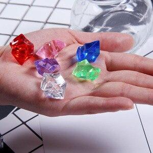 Image 4 - Kolorowe nieregularne sztuczny lód fałszywe kryształowe granulki fotografia Studio akcesoria Ornament dla owoców piwo Whisky napoje sodowe
