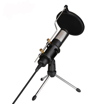 Usb plug and play microphone for pc computer laptop conference desktop voice tube wired studio microphone vocal recording mic
