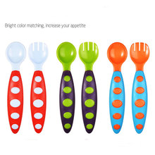 baby kids spoons feeding dishes dinnerware Tableware for children flatware cutlery spoon Flatware