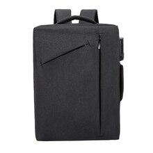 laptop backpack for man 15 '' computer school password backpack bag for teenager canvas backpack shoulder bag Mochila Escolar