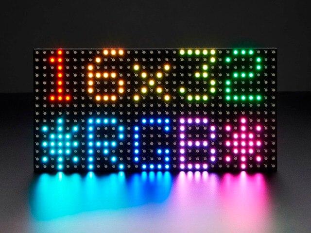 Бесплатная доставка Leeman 16 x 32 P6 RGB --- бесплатный образец SMD p3 крытый RGB из светодиодов дисплей модуль, 64 x 32 из светодиодов матричные p2 p3 p4 p5