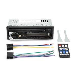 Image 5 - Camecho autorradio estéreo con Bluetooth para coche, receptor de entrada Aux, FM, SD, USB, JSD 520, 12V, en tablero, reproductor Multimedia MP3, 1 din