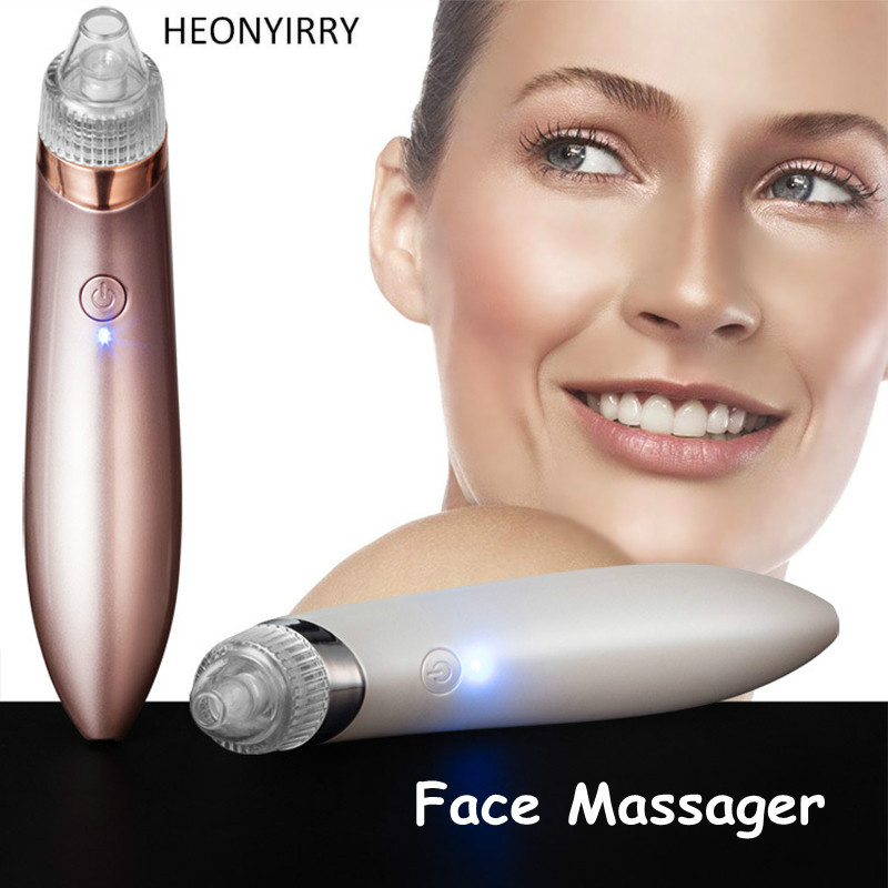 Electric Acne Remover Point Noir Blackhead Vacuum Extractor Tool Black Spots Pore Cleaner Skin Care Face Lift Blemish Removers