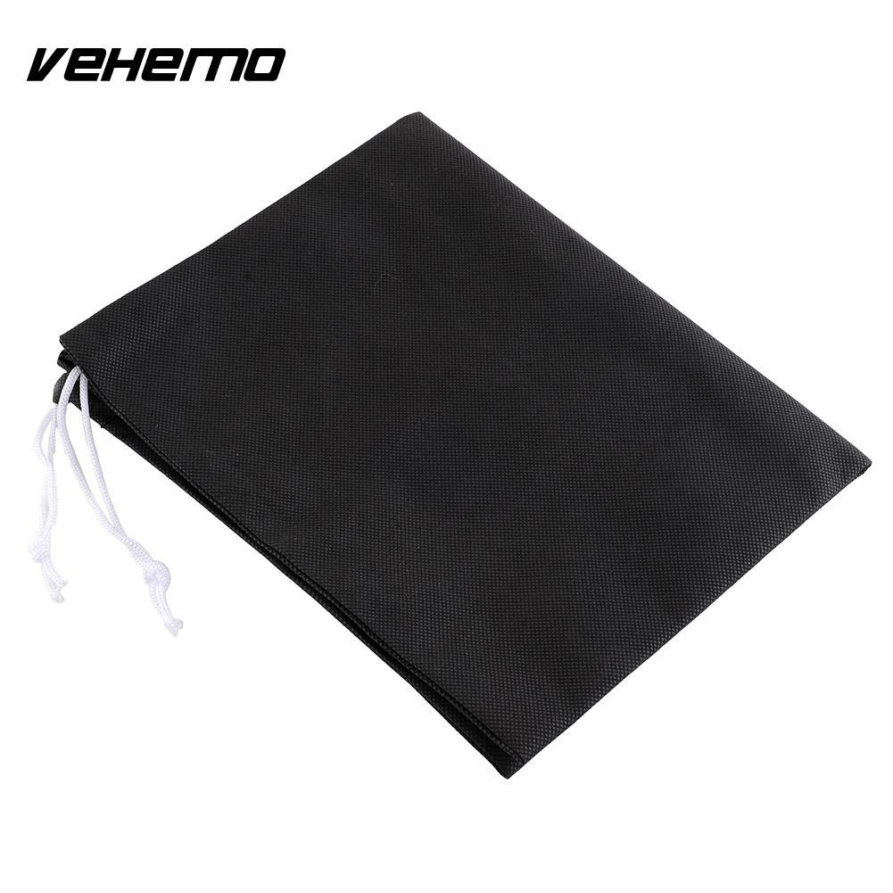 Vehemo мотоциклы мотоцикл 49x40 см Путешествия это шнурок шлем сумка для хранения черный