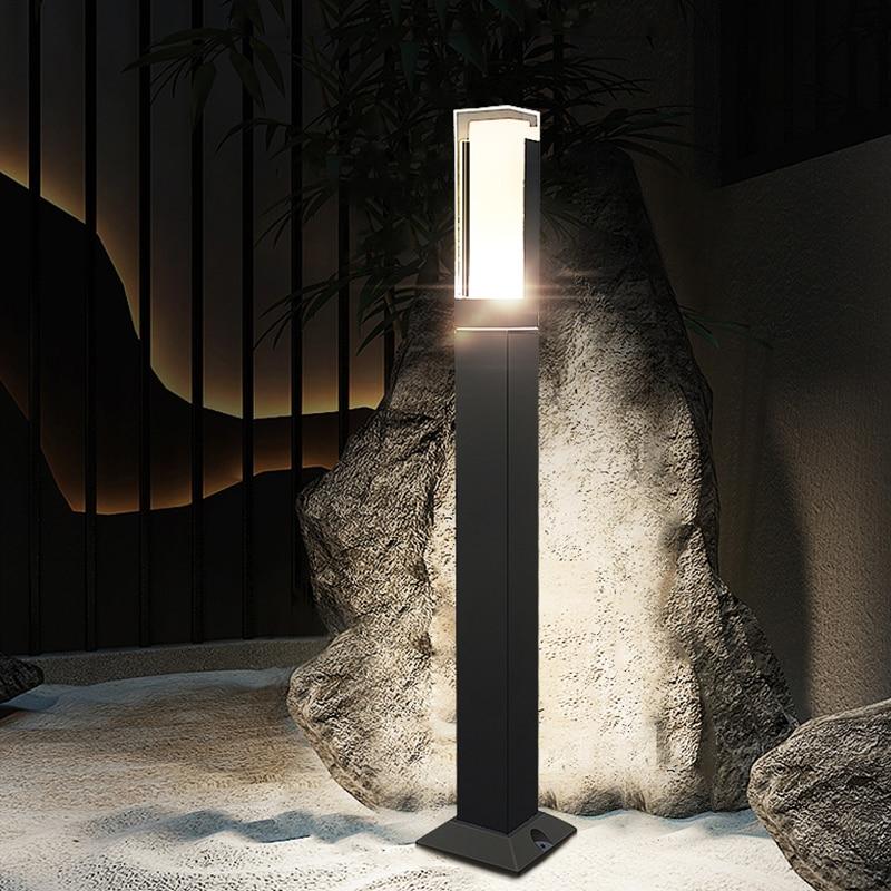 Waterproof LED Lawn Lamp illustration