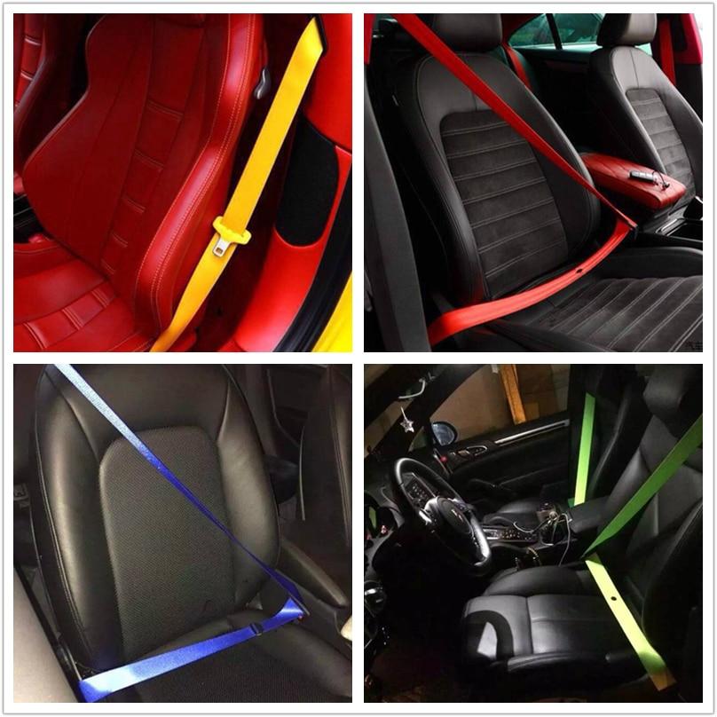 Racing seat belt 4.8CM*3.8M car webbing fabric Harness SAFETY STRAP