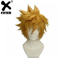 XCOSER Ventus Wig Kingdom Hearts Cosplay Pre styled Wig Hair Costume Accessories Japanese Anime Cosplay Prop Ship from US
