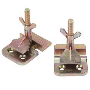 Image 5 - Abrazadera para bisagra de mariposa, accesorio para bisagra de mariposa de Metal con serigrafía, 2 unidades