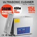 15 л индустриальное ультразвуковое цифровое Очищающее Оборудование